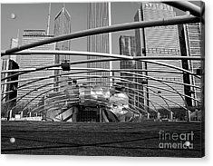 Millennium Park Iv Visit Www.angeliniphoto.com For More Acrylic Print by Mary Angelini