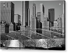 Millennium Park V Visit Www.angeliniphoto.com For More Acrylic Print by Mary Angelini