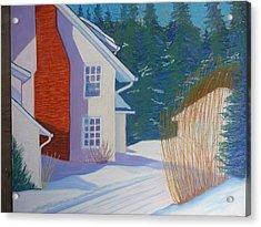 Mills House -chester Acrylic Print