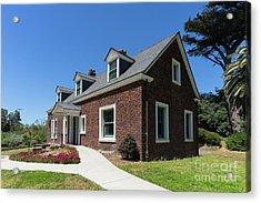 Millwright's Cottage At The Murphy Windmill San Francisco Golden Gate Park San Francisco Ca Dsc6346 Acrylic Print