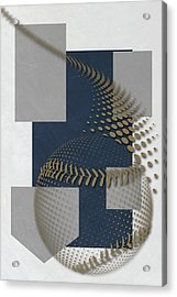 Milwaukee Brewers Art Acrylic Print by Joe Hamilton