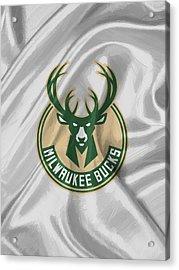Milwaukee Bucks Acrylic Print by Afterdarkness