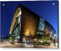 Milwaukee Bucks Acrylic Print