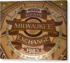 Milwaukee Grain Exchange Acrylic Print