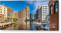 Milwaukee Summer Nights Acrylic Print