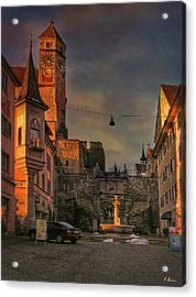 Acrylic Print featuring the photograph Main Square by Hanny Heim