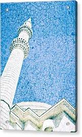 Minaret Acrylic Print by Tom Gowanlock