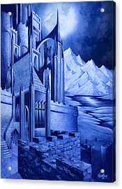 Minas Tirith Acrylic Print by Curtiss Shaffer
