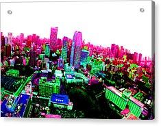Minato Tokyo Acrylic Print by Jera Sky