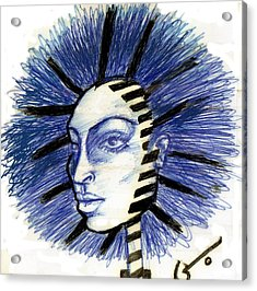 Mind Blowing Acrylic Print by Agatha Green