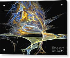 Acrylic Print featuring the digital art Mindblow by Sipo Liimatainen