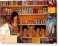 Minding The Shop Acrylic Print by Jez C Self
