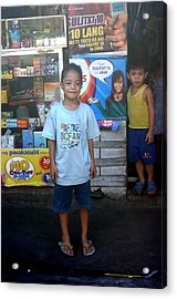 Minding The Store Acrylic Print by Jez C Self
