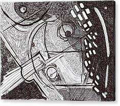 Minds Eye View Acrylic Print