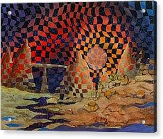 Mindscape Acrylic Print by Linda L Doucette