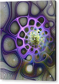 Mindscapes Acrylic Print by Amanda Moore