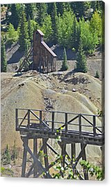 Acrylic Print featuring the photograph Mine by Jeff Loh