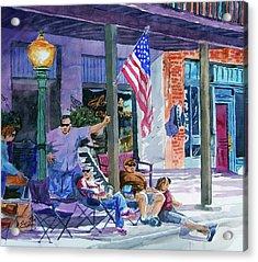 Mineola Tx Street Fair Acrylic Print