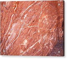 Minerals Acrylic Print by Trenton Heckman