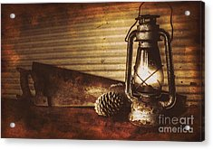Miners Cottage Details Acrylic Print by Jorgo Photography - Wall Art Gallery