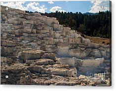 Acrylic Print featuring the photograph Minerva Terrace by Charles Kozierok