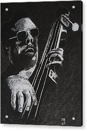 Mingus Acrylic Print by Nick Young