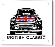 Mini British Classic Acrylic Print