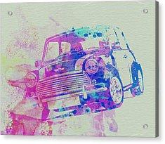Mini Cooper Acrylic Print by Naxart Studio