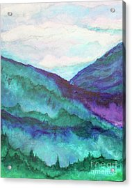 Mini Mountains Majesty Acrylic Print