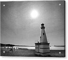 Miniature Lighthouse Acrylic Print by John Hansen