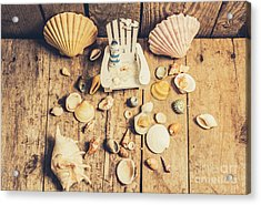 Miniature Sea Escape Acrylic Print