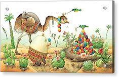 Minieggs And Maxiegg Acrylic Print by Kestutis Kasparavicius