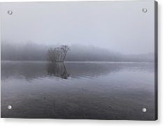 Minimal Reflection Acrylic Print by Chris Fletcher