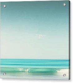 Minimal Wave Acrylic Print