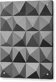 Minimalist Wall Decor Black And White Acrylic Print by Magdalena Walulik
