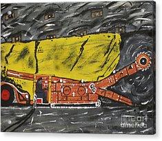 Coal Mining  Acrylic Print by Jeffrey Koss