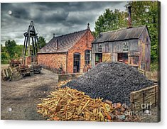 Acrylic Print featuring the photograph Mining Village by Adrian Evans