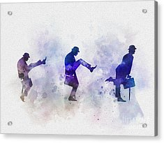 Ministry Of Silly Walks Acrylic Print