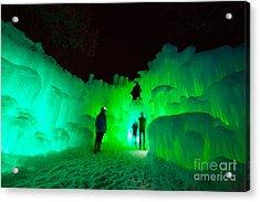 Ice Castles Of Minnesota Acrylic Print