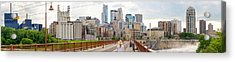 Minneapolis Milling District Acrylic Print