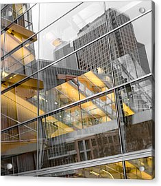 Minneapolis Public Library Acrylic Print by Jim Hughes