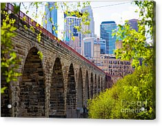 Minneapolis Stone Arch Bridge Photography Seminar Acrylic Print