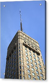 Acrylic Print featuring the photograph Minneapolis Tower 6 by Frank Romeo