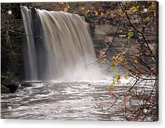 Minnehaha Falls  Mankato Minnesota Acrylic Print