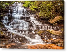 Acrylic Print featuring the photograph Minnehaha Falls by Michael Sussman
