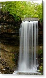Minnehaha Falls Acrylic Print by Tiffany Erdman