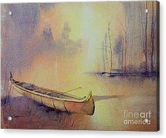 Minnehaha's Canoe Acrylic Print