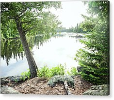 Acrylic Print featuring the photograph Minnesota Boundary Waters by Whitney Leigh Carlson