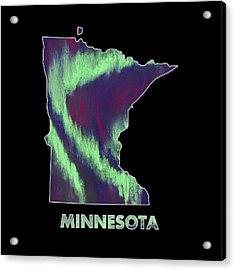 Minnesota - Northern Lights - Aurora Hunters Acrylic Print