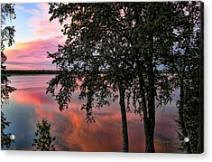 Minnesota Sunset Acrylic Print